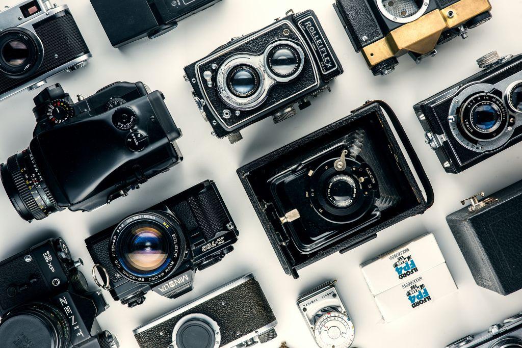 plein d'appareil photo